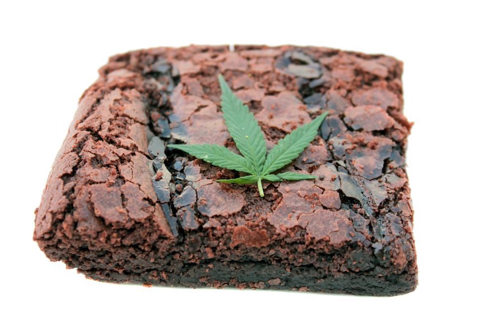 Wietboter is de basis voor veel edibles-recepten waaronder space-brownies. [Foto: shutterstock/mikeledray]