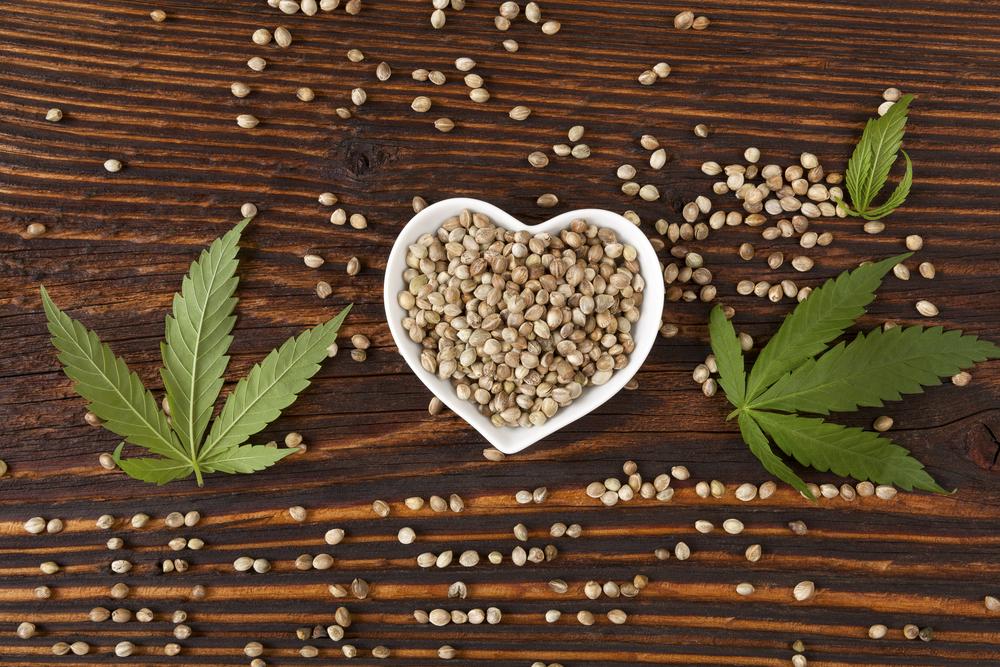Hennepzaad is een bron van gezonde vetzuren en zou is een belangrijke toevoeging op ieders dieet. [Foto: shutterstock/Eskymaks]