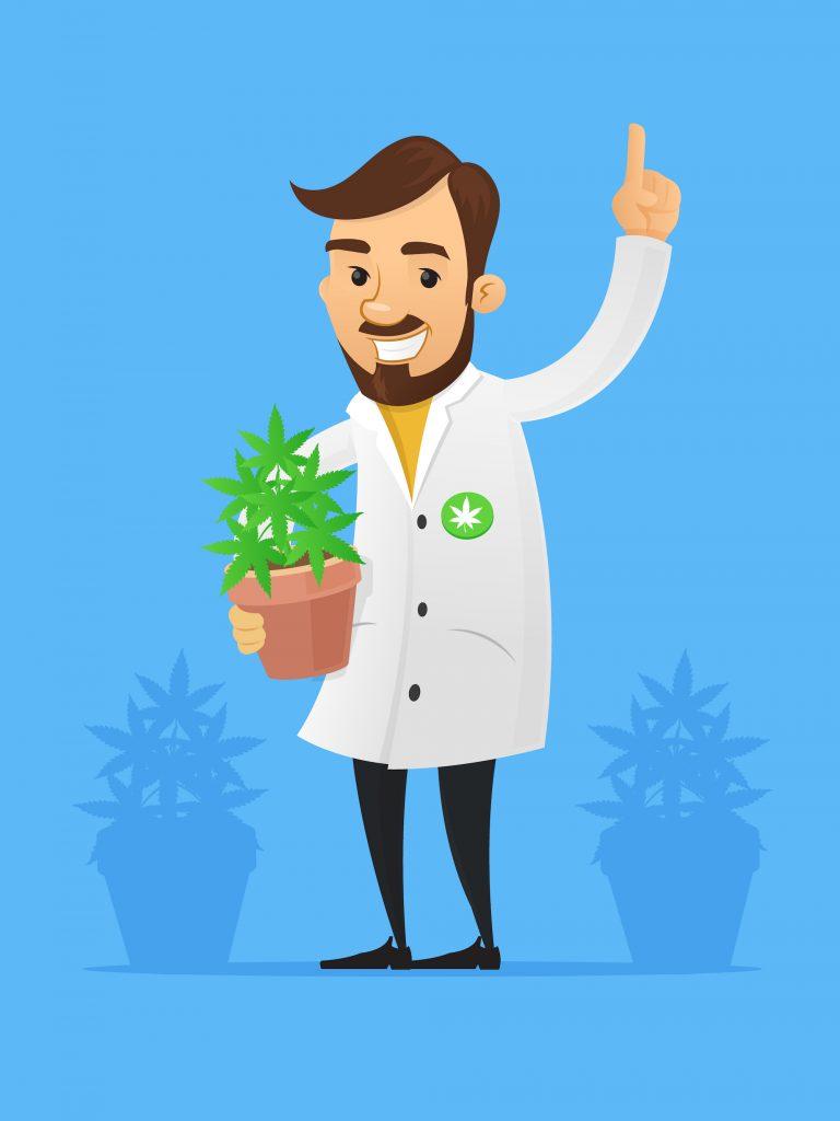 Het wordt noodzaak om cannabis als onderdeel van de behandeling te zien. [Foto: shutterstock/Zoran Milic]