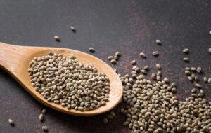 hennepzaad bevat veel omega-3 en -6 vetzuren
